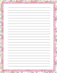 free printable rainbow stationery lined paper with borders tire driveeasy co