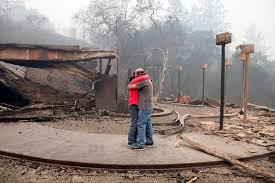 california today wildfire photos tell a story ruin