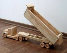 Build Big Wood Toy Trucks by Wood Toy Train 3 Cars All Natural Wooden Toys By Nwtoycrafters