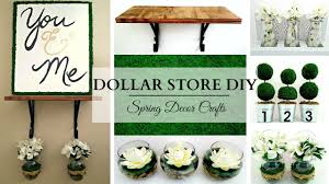 Spring Home Decor Dollar Store Diy U0027s Earth Tone Spring Home Decor Crafts Youtube