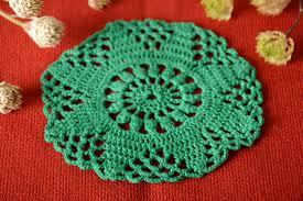 madeheart u003e crocheted handmade napkin designer home decor small