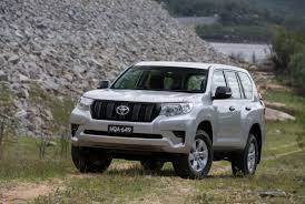 land cruiser prado car 2018 toyota landcruiser prado now on sale in australia