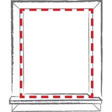 How To Install A Roman Shade - inside mount vs outside mount blinds and shades bali blinds blog