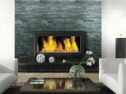 stacked stone veneer interior slate ledger stone fireplace ideas