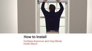 bali blinds how to install cordless aluminum and vinyl blinds