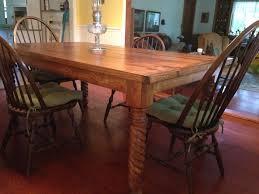 farmhouse dining table legs farmhouse style table features new dining table leg osborne