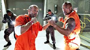 the rock jason statham to in fast furious spin