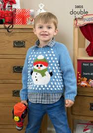 9 christmas sweater knitting patterns for whole family
