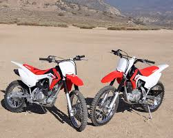 motocross bike sizes 2014 honda crf 125f u0026 125fb dirt bike test