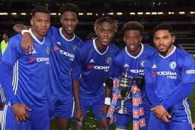 chelsea youth players chelsea 5 1 manchester city 6 2 agg dujon sterling helps win fa