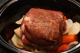crock pot roast beef cook diary