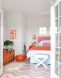 Pink And Orange Bedroom 25 Stunning Bedroom Designs With Bold Color Scheme Rilane
