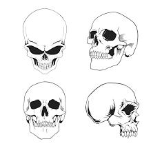 free vector skulls pack by deviantart com on deviantart