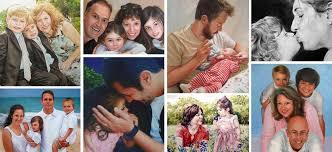 family portraits family paintings custom family portraits