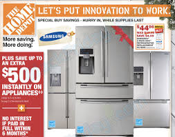 home depot black friday 2017 kitchen the amazing home depot refrigerator sale for house decor