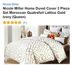 Nicole Miller Duvet Nicole Miller Home Duvet Cover 3 Piece Set On The Hunt