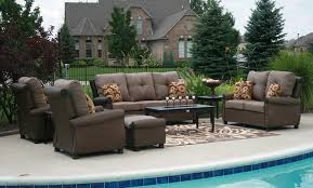 Lazy Boy Wicker Patio Furniture by Considering Outdoor Furniture Cushions For Your Lazy Days 1934