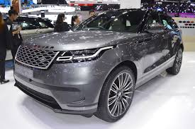 range rover price 2017 range rover velar showcased at the 2017 thai motor expo