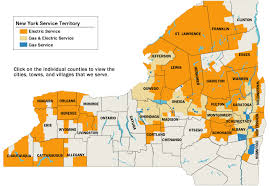 upstate ny map national grid service territory map