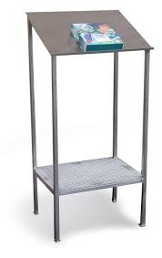 Stainless Desk Strong Hold Products Stainless Steel Writing Table