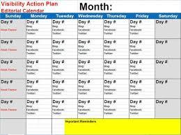 social media calendar template how to create a social media