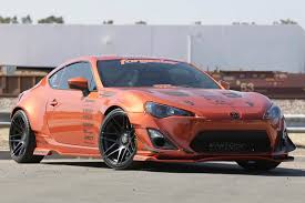 custom subaru brz wide body lightweight concave wheels for wide body scion fr s forum