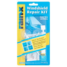 Interior Windshield Cleaning Tool Rainx Windshield Repair Kit 035 Oz Walmart Com