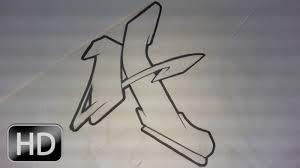 graffiti alphabet n 5 lettre par lettre complex u0026 flow style