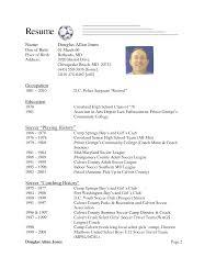 Ucf Resume Resume Head Football Coach Resume