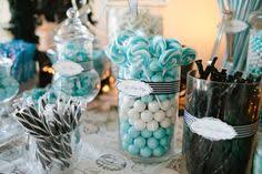 Tiffany Blue Candy Buffet by Tiffany Blue Box Favor Treats Our Candy Buffets U0026 Dessert Table