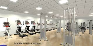 200 sqm u2013 scandi fitness