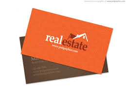 Business Card Design Psd File Free Download Real Estate Business Card Psd File Free Download