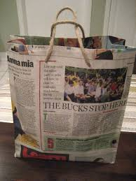 19 diy newspaper bags guide patterns