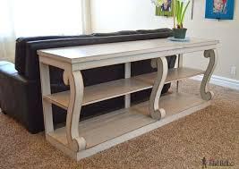 Curved Sofa Table Slim Sofa Table Or Narrow Sofa Table Small Console Table Console