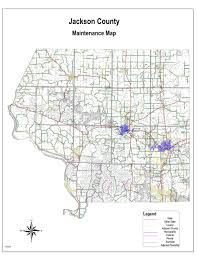 Idot Road Conditions Map County Highway Map Jackson County Il