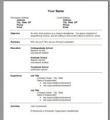 Best Word Template For Resume Resume Template 89 Awesome Microsoft Word Templates Download