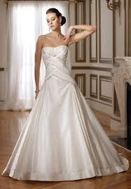 Wedding Dresses Edinburgh A Line Drop Waist Wedding Dress Weddingcafeny Com