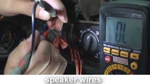 nissan altima 2005 radio fuse how to rewire a cut harness car stereo youtube