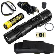 blackfire rechargeable cl light nitecore mh10 super bundle with rechargeable flashlight 18650