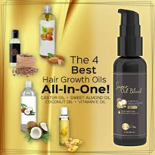 amazon com pure castor oil with sweet almond oil coconut oil and