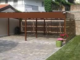 tettoia in ferro tettoia in ferro zincato giardino e fai da te in vendita a