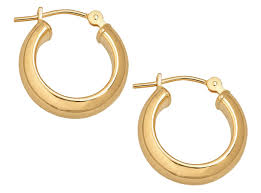 gold hoops the best mid size gold hoop earrings to buy now instyle