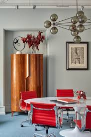 how to furnish an apartment with mid century modern lighting