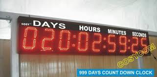 led stopwatch clock 9 digit sports timing equipment