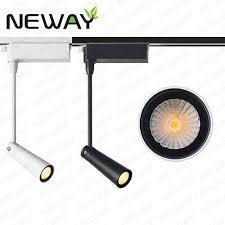 pro track lighting manufacturer 8w direct lighting white line voltage track lighting head aluminum