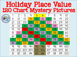 place value mystery number place value mystery pictures december themed