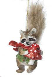 7 storybook garden raccoon with and