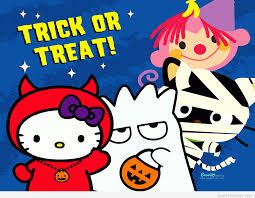 Hello Kitty Halloween Fabric by Quotes Hello Halloween