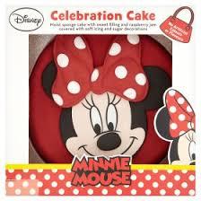 disney minnie mouse birthday cake asda groceries