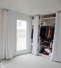 Curtain As Closet Door Curtains So Done With Closet Door Dilemmas So There Home